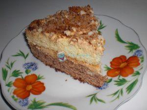 Торт День и ночь со сгущенкой