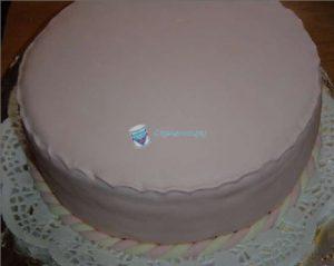 Обтягиваем торт мастикой