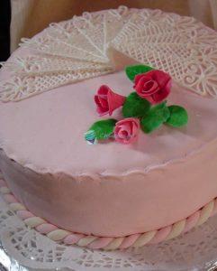 Готовый торт Нежность