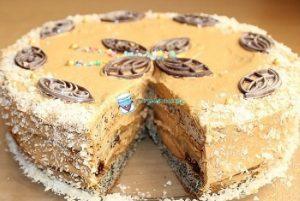 Торт Наташа со сгущёнкой