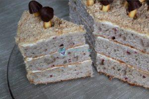 Готовый торт Торт Трухлявый пень со сгущёнкой