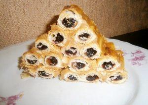 Торт Монастырская Изба со сгущенкой