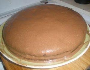 Собираем торт Прага со сгущенкой