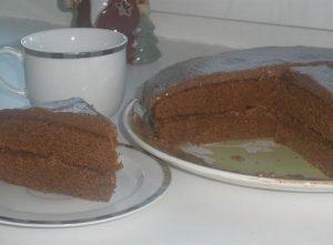торт Прага со сгущенкой