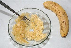 Крем из бананов и сгущенки
