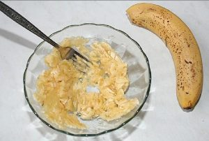 Разминаем бананы