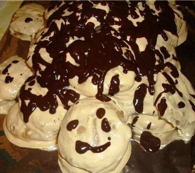 торт черепаха рецепт со сгущенкой с фото