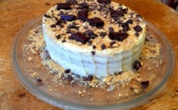Торт со сгущенкой, простой рецепт с фото