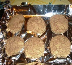 Запеченное печенье