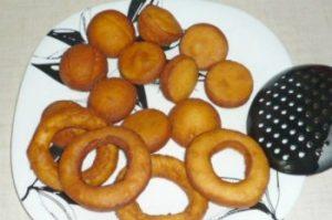 Готовые пончики
