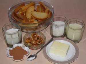 Пирожное картошка из сухарей рецепт
