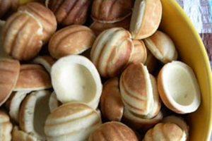 Орешки с начинкой