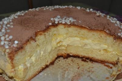 Торт бисквит «Нежность»