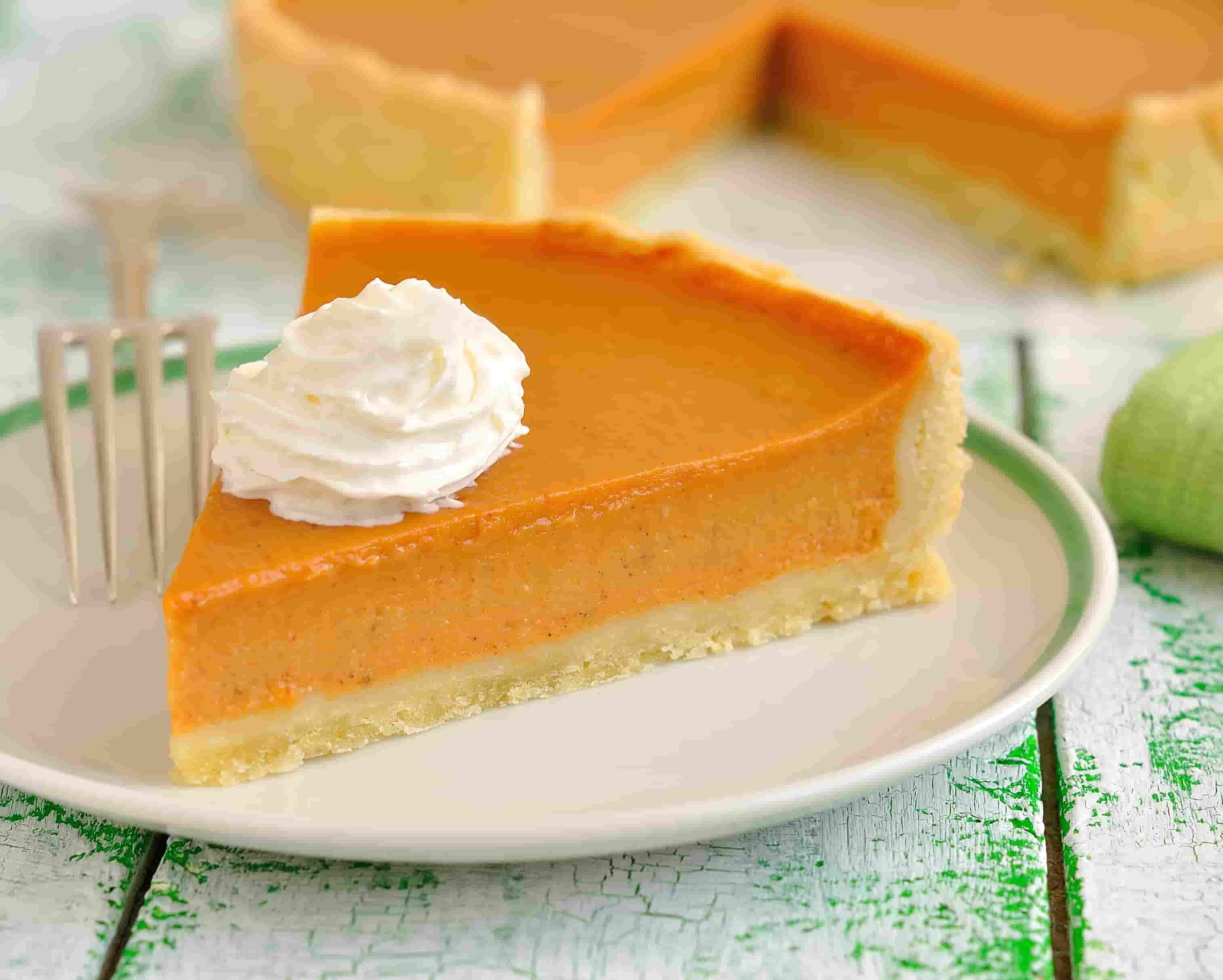 Тыквенный пирог со сгущенкой