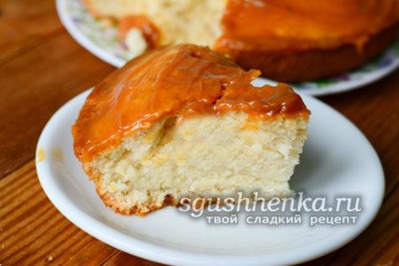 бисквит со сгущенкой
