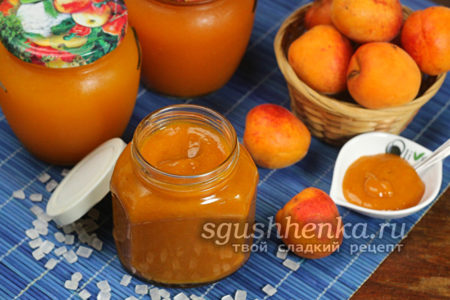 абрикосовый джем готов