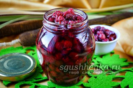 варенье из малины с целыми ягодами  готово