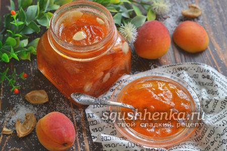 Густое варенье из абрикосов