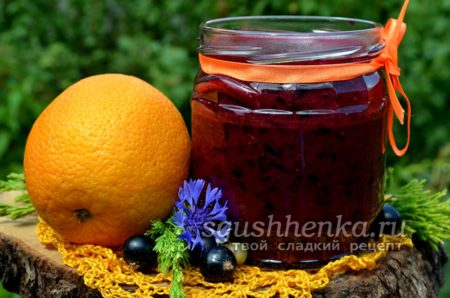 Варенье из смородины и апельсинов