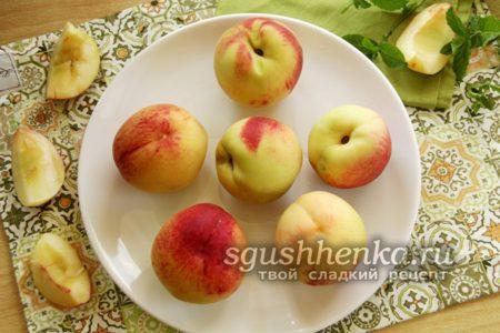 Отобранные персики