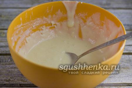 густое тесто для оладий