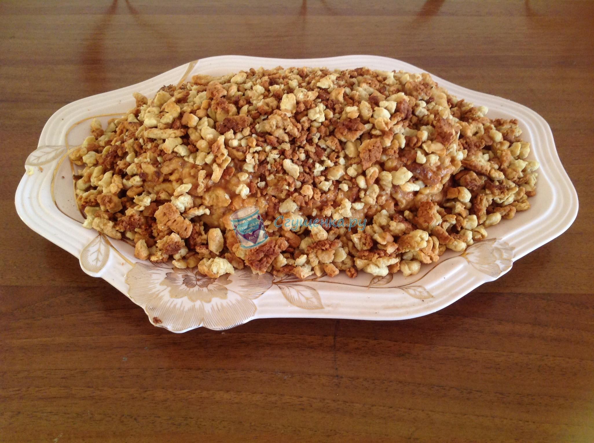 Торт золотой орешек