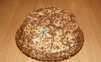 Торт Машенька со сгущенкой