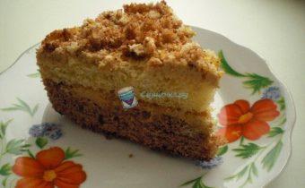 Кусочек торта День и ночь