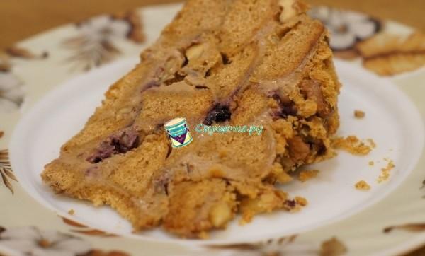 Торт из пряников со сгущенкой