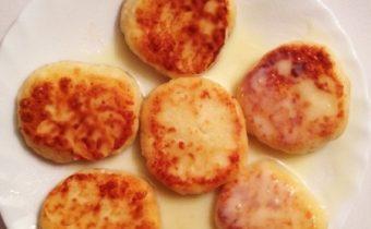Сырники со сгущенкой