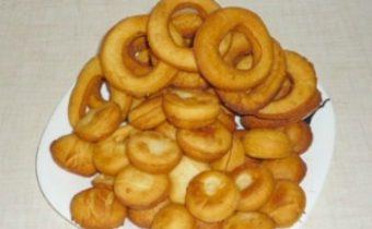 Пончики на сгущенном молоке
