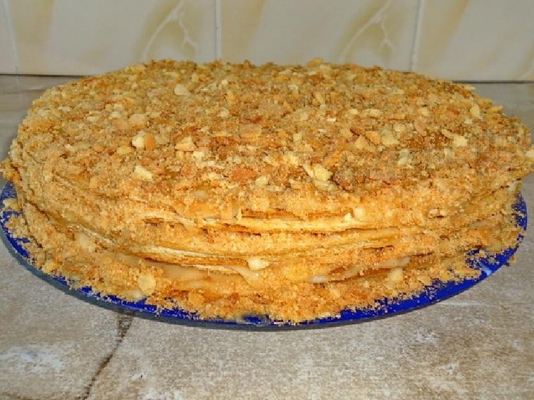 Медовый торт со сгущенкой рецепт с фото помещения