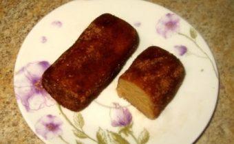 Картошка из печенья со сгущенкой