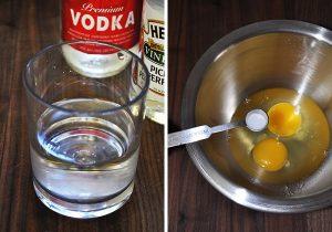 Смешиваем яйца