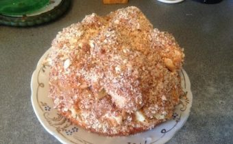 Бисквитный торт «Графские развалины» с безе
