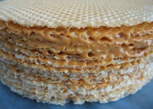 Рецепт вафельний торт фото