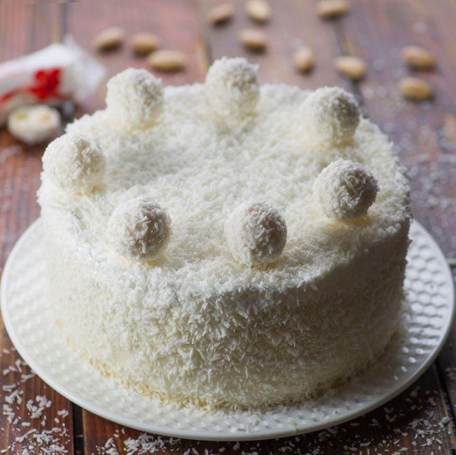 Торт «Рафаэлло»