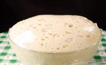 Дрожжевое тесто на сгущенке