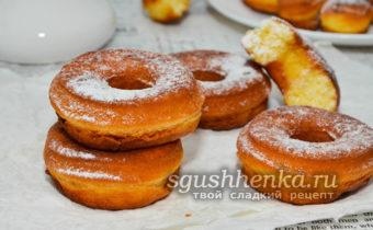пончики со сгущенкой
