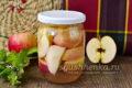 Компот из яблочек