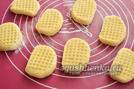 готовим заготовки для печенья