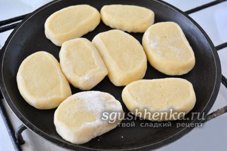 готовим печенье на сковороде