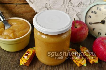 конфетное варенье из яблок