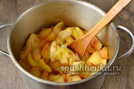провариваем яблоки