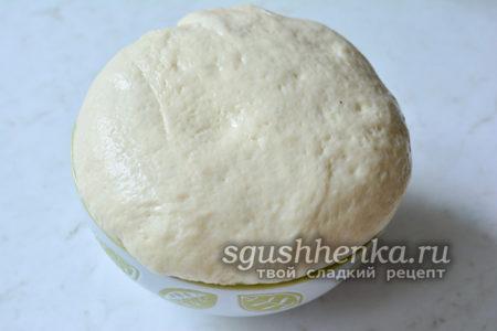 сдобное тесто для вкусных булочек