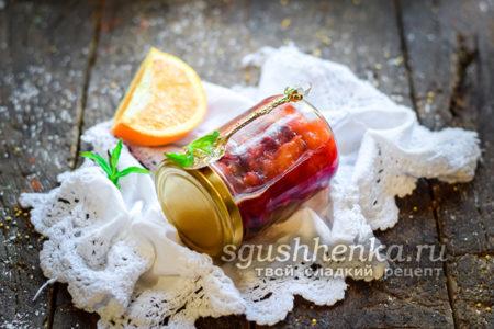 сливовое варенье с апельсинами