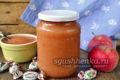яблочное варенье с барбарисками