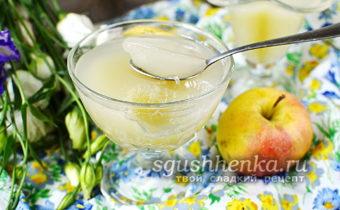 яблочное желе