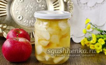 Живое варенье из яблок