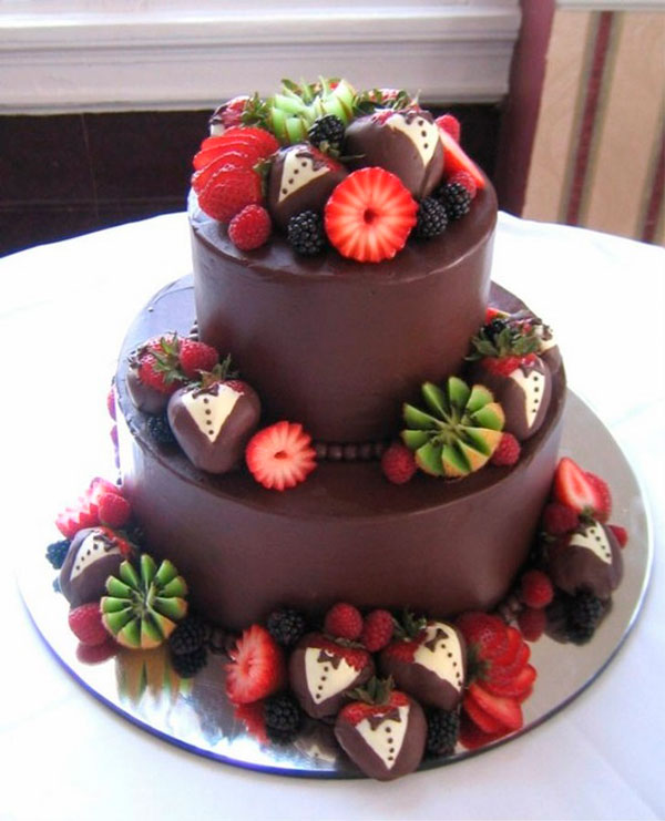 Шоколад фрукты